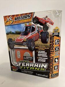 2009 Tony Air Hogs Micro Terrain Titans XS Motors - New Sealed