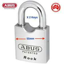 ABUS Padlock 83/55 High Security ROCK-Shipping Containers Padlocks-FREE POST