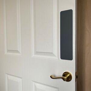 Standard Door Push Plate Acrylic Protector Perspex Finger Plates (Self Adhesive)