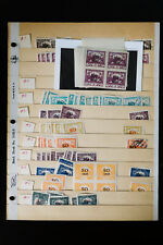Slovakia Early Identified Posta Cesko-Slovenska Stamp Hoard Collection