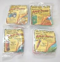 McDonalds Mystery of the Lost Arches Search Team Toys Complete Set 4 Sealed