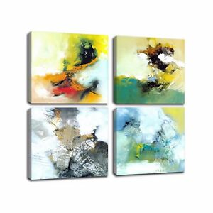 Modern Canvas Art Prints Abstract Cloud Canvas Oil Painting Wall Art No Frame