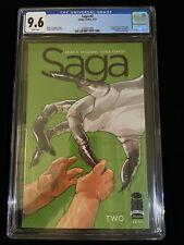 2012 Saga #2 Chapter Two CGC 9.6 White Pages Image Comics 4/12, 1006