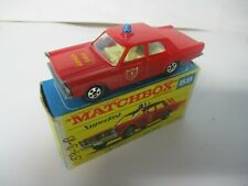 Matchbox Lesney Superfast SF59 Ford Galaxie Fire Chief- Transitional, boxed