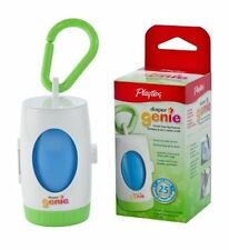 Playtex Genie Diaper Dispenser and 25 Disposable Bags Stinky Diapers Portable