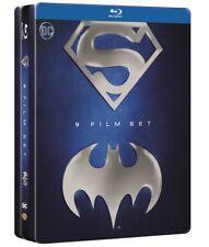Batman & Superman Anthology Metal Tin Box 9-Movie Blu Ray (Region Free)