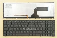 For ASUS G53 G53JW G53SW G53SX UX50 UX50V Keyboard Slovak Backlit klávesnica