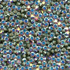 1028 PP28 CI *** 40 strass Swarovski fond conique 3,55mm CRYSTAL AB  F