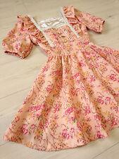 LIZ LISA Dress Japan-M Antique english rose Romantic Hime&Lolita 109 Fashion