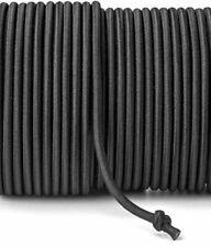 Gummikordel Gummiband Rundgummi elastische Kordel (ø 5 mm) - Farbe: Schwarz