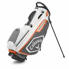 Callaway 2020 Chev Stand Bag 5 way New White Charcoal Orange (5120074)