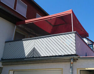 Terrassenüberdachung Faltpavillon XL stabil SHELTERLOGIC 3,7m x 3,7m Marktstand