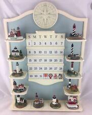1X Lighthouse You Pick Month Calendar Figurines Danbury Mint