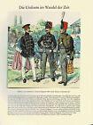 Husarenoffiziere um 1853 - Die Uniform im Wandel der Zeiten