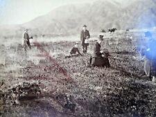 C 1880S 3 ALBUMEN PHOTOS POPPY FIELDS ECHO MNTN LA JOLLA PARK SWEET WATER DAM