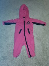 Reebok Pink And Black One Piece 3-6M