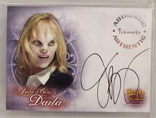Buffy Tvs - Wos - Julie Benz As Darla Autograph Card - Bv$50