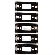 5Pcs Durable Battery Holder Case Box Clip For CR123 CR123A Lithium Battery
