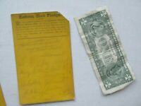 Very Rare 1880 Antique Liquor Temperance Reform Pledge, Prohibition, Lebanon, NH