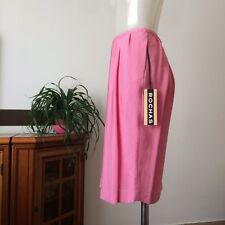 Rochas, Pink Skirt, Size FR40, Brand New With Tags
