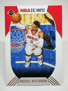 Panini Hoops 2020-21 N25 card NBA base #60 Russell Westbrook Houston Rockets