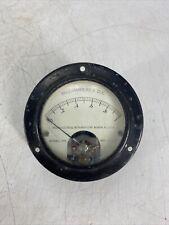 Vintage Weston Dc Milliamperes Meter 0 1 Model 301 Panel Meter Ham Radio