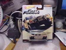 Hot Wheels Fast & Furious Hummer H1 with Real Riders