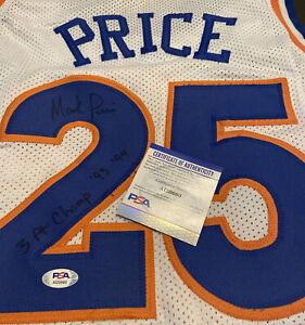 Mark Price Signed Cleveland Cavalier Jersey Inscribed 3 Pt Champ 93-94 (PSA COA)