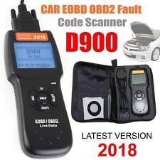2018 coche lector de código de avería D900 Universal OBD2 EOBD puede diagnóstico escáner herramienta