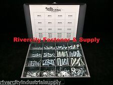 Metric Bolt, Nut, Flat & Lock Washer Assortment 530 Piece Grade 10.9 With Tray
