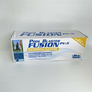 New Bluewave Pool Blaster Fusion PV-5 Hand-Held Cleaner Cordless