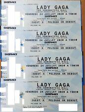 PLACE(S) PELOUSE OR CONCERT LADY GAGA PARIS STADE DE FRANCE DIMANCHE 25/07/21