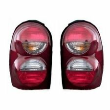 New Pair of Tail Lights Left and Right Fits 2005-2007 Jeep Liberty