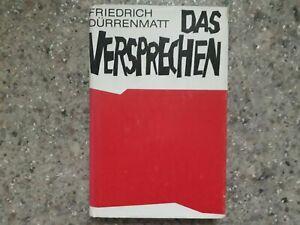 Das Versprechen von Friedrich Dürrenmatt - gebundene Ausgabe - guter Zustand
