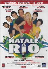 2 Dvd **NATALE A RIO** Ediz. Speciale con C. De Sica M. Hunziker M. Ghini 2008