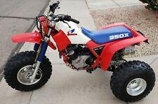 1985 Honda Atc350X 3 Wheeler. 85 Atc 350X Trike Ca bike with Title 200X Goki