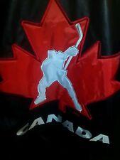 XXXL Steve and Barry's Canada Canadian Hockey League Jacket red black flag Mens