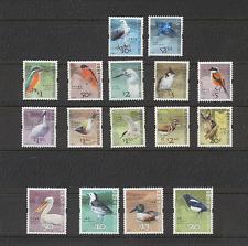 Hong Kong 2006 Búho/Martín Pescador/EAGLE/Garza/Aves/Naturaleza/vida salvaje 16v Set (n16950)
