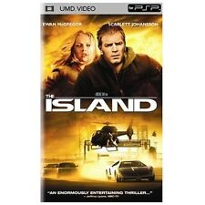 The Island (UMD for PSP, 2006) Free Shipping!