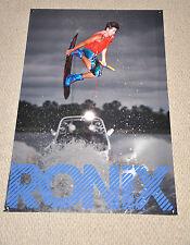 RONIX  BILL ADAM ERRINGTON HAWAIIAN  BANNER Wakeboard With DECAL Stickers