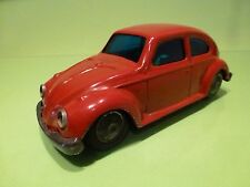 VOLKSWAGEN BEETLE - VW KAFER -   BANDAI     - TIN TOY BLECH - GOOD CONDITION.