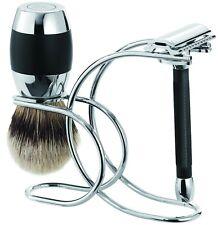 Merkur /Dovo Solingen Shaving Set Safety Razor Badger Shaving Brush Silvertip
