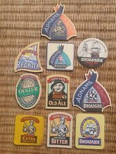 10 X Collection Beer Mats ADNAMS Oyster Stout,Old Ale,Broadside Free P& P