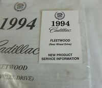 1994 CADILLAC FLEETWOOD  DEALER NEW PRODUCT SERVICE INFORMATION MANUAL NEW