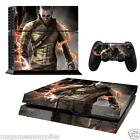 PS4 Playstation 4 inFAMOUS Cole Console Skin Decal Sticker 3M ULTRA HIGH QUALITY