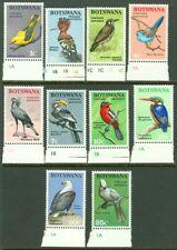 EDW1949SELL : BOTSWANA 1967 Scott #19-28 Birds. Very Fine, Mint NH. Catalog $36.