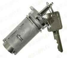 Ignition Key Switch Lock Cylinder Chrome 2 Keys 701398 for GMC C/K2500 79-86