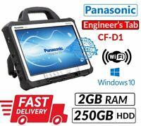 "PANASONIC TOUGHBOOK CF-D1 13.3"" INTEL 847 2GB 250GB WIN 10 ENGINEERS' XENTRY TAB"