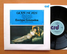 CRD 1001/2 Enrique Granados Goyescas Thomas Rajna Piano 2xLP Gatefold NM/EX