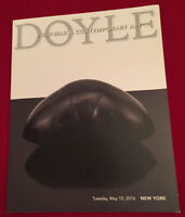 Doyle Post-War & Contemporary Art Auction Catalog May 10 2016 New York